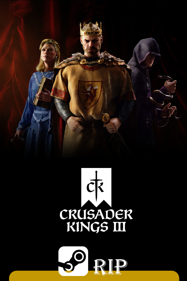 Cover Crusader Kings III - Royal Edition v.1.3.0 [Steam-Rip]