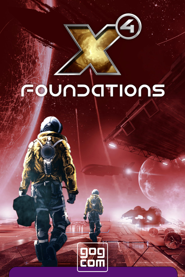 Cover X4 Foundations - Collector's Edition v.4.10.458643 [GOG]