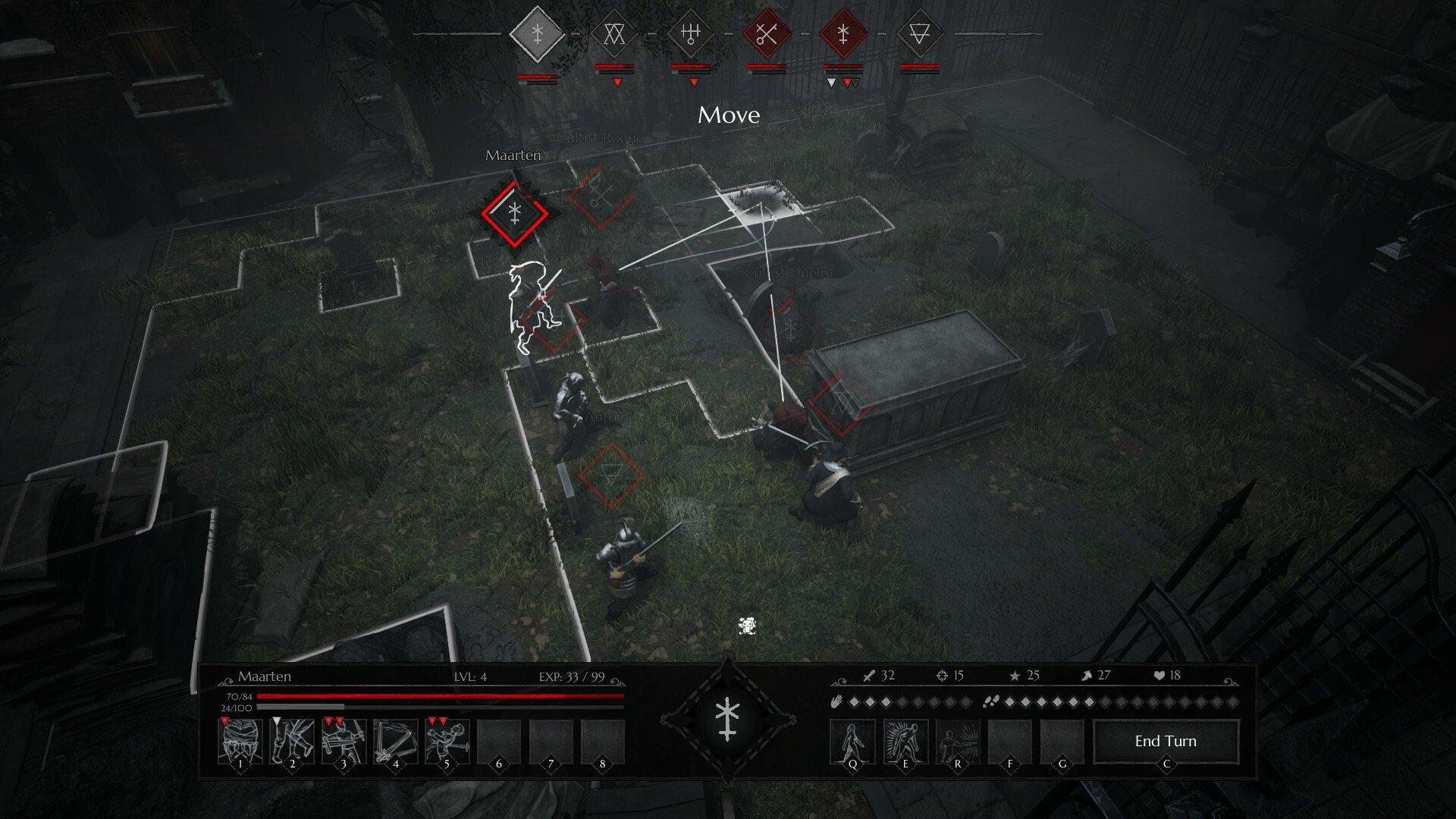 Screenshot for the game Black Legend [GOG]