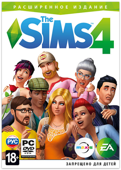 Cover The Sims 4: Deluxe Edition [v 1.71.86.1020 (x64) / 1.71.86.1020 (x32) + DLC]