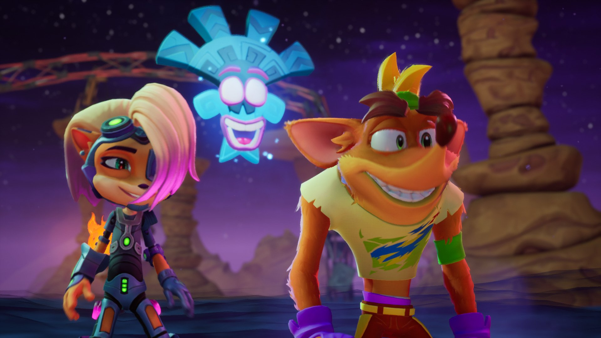 Screenshot for the game Crash Bandicoot 4: It's About Time