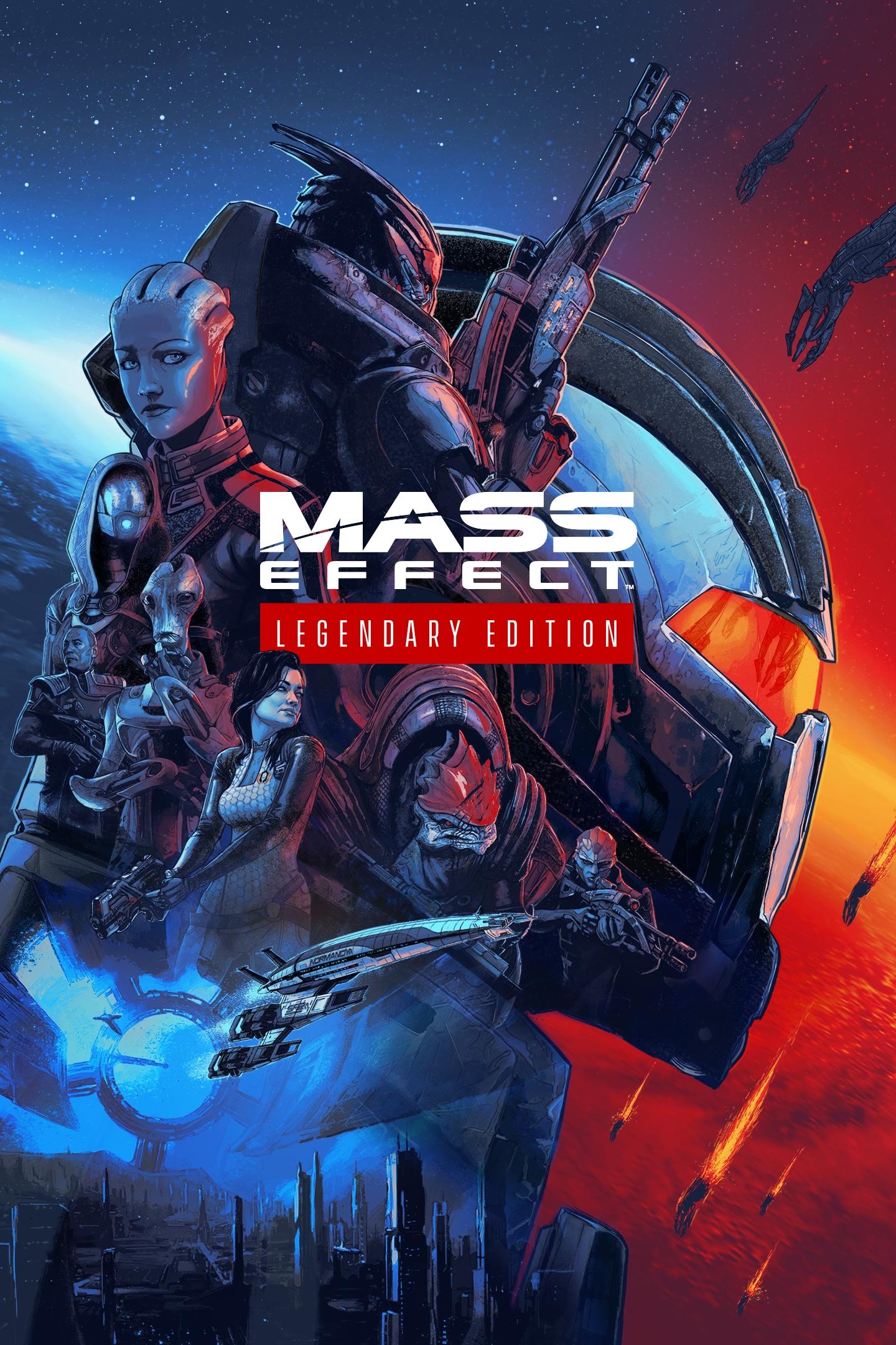 Cover Mass Effect: Legendary Edition