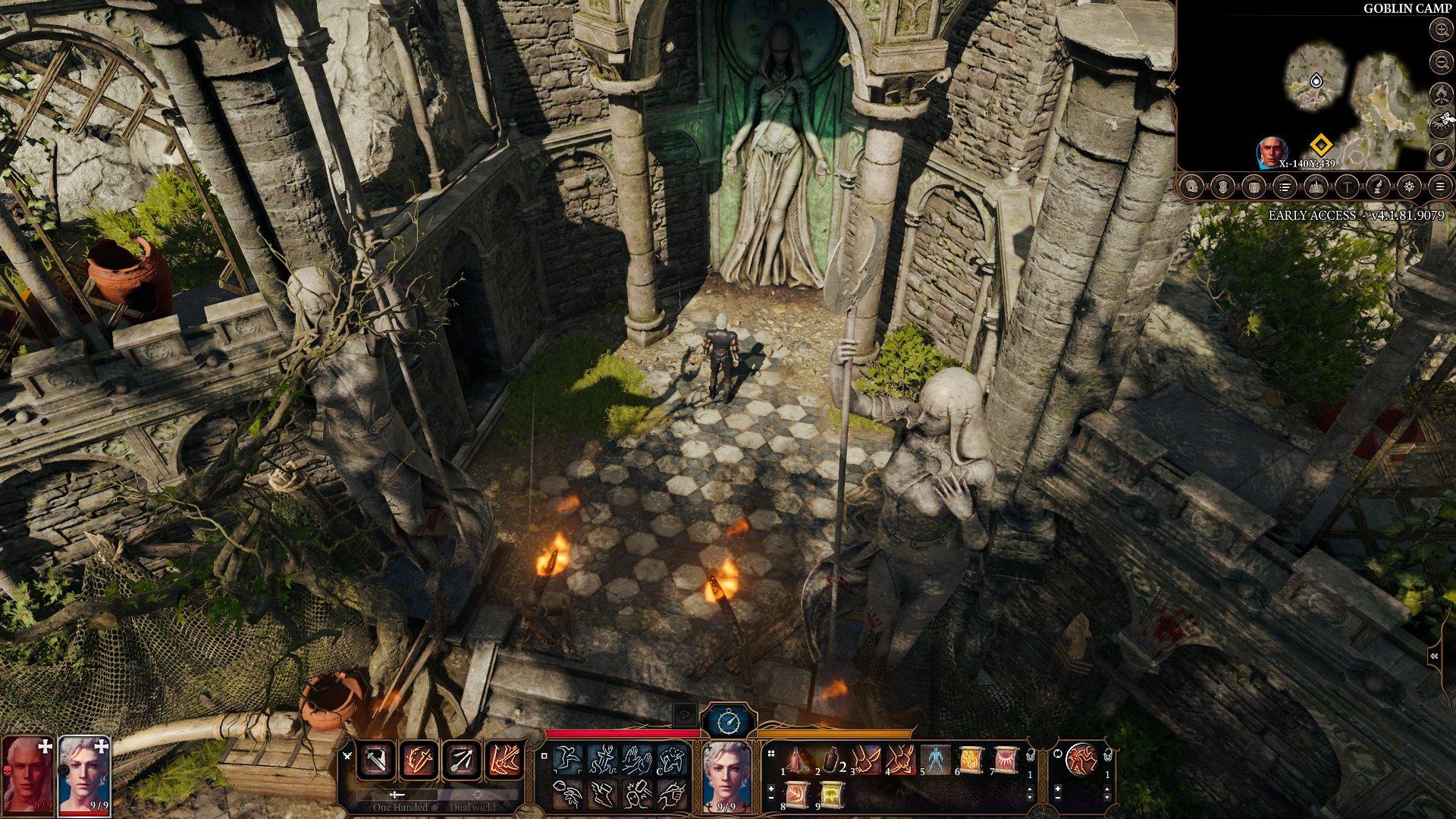 Screenshot for the game Baldur's Gate 3 (v.4.1.106.9344) [GOG] (Early Access)