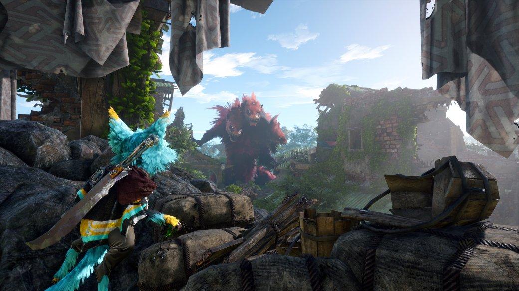Screenshot for the game BIOMUTANT