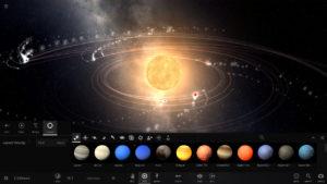 Screenshot for the game Universe Sandbox 2