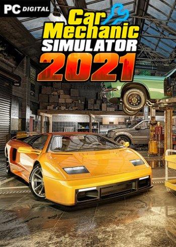 Cover Car Mechanic Simulator 2021