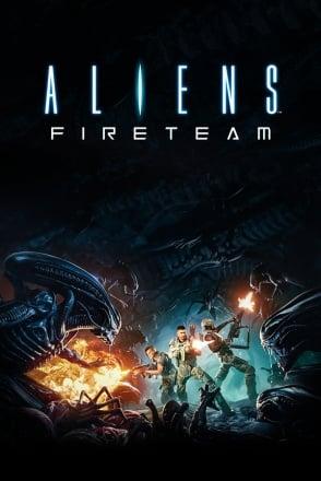 Cover Aliens: Fireteam Elite