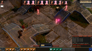 Screenshot for the game Encased: A Sci-Fi Post-Apocalyptic RPG