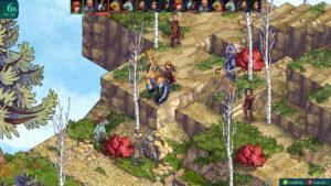Screenshot for the game Fell Seal: Arbiter's Mark