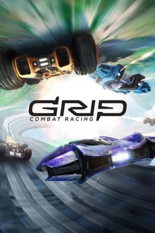 Cover GRIP: Combat Racing
